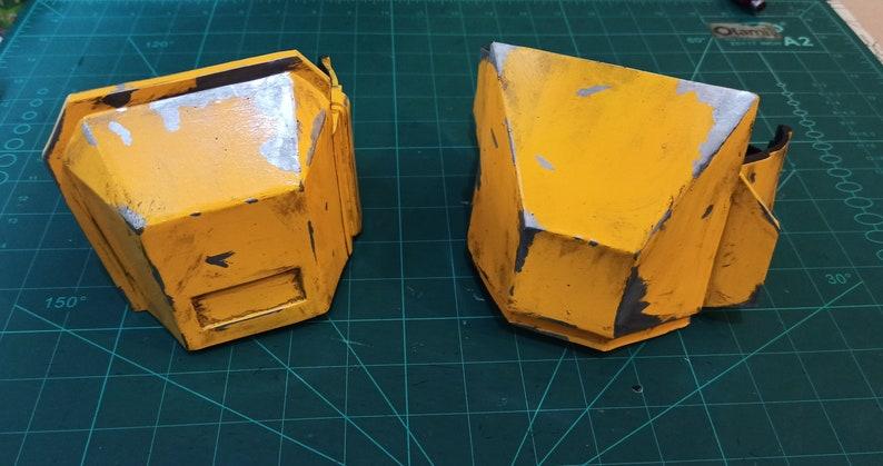 Thigh Mandalorian Heavy Infantry Armor template Codpiece Kness Boots Eva Foam pattern.