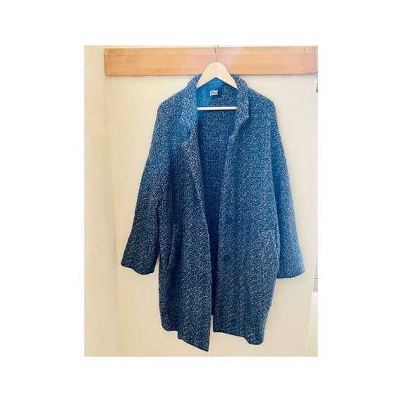 Sumi Sumi wool coat, size 0 (oversized)