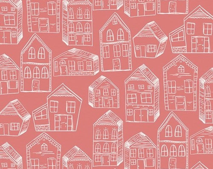 """Art Gallery Fabrics Little Clementine Collection- The Gingerbreads Fondant (sold in 25cm (1/4 metre) (9.8"""") increments)"""