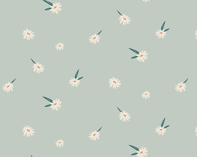 """Art Gallery Fabrics Campsite Collection- Dancing Daisies (sold in 25cm (1/4 metre) (9.8"""") increments)"""