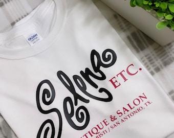 Classic 90s Selena Q. Combo Boutique Shirt