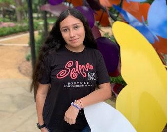 Classic 90s Selena Q. Boutique Shirt
