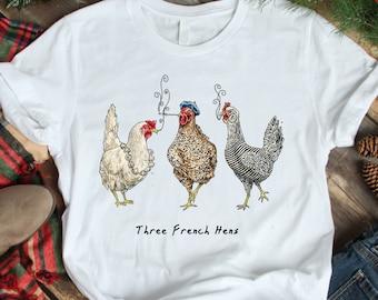 Three French Hens Etsy