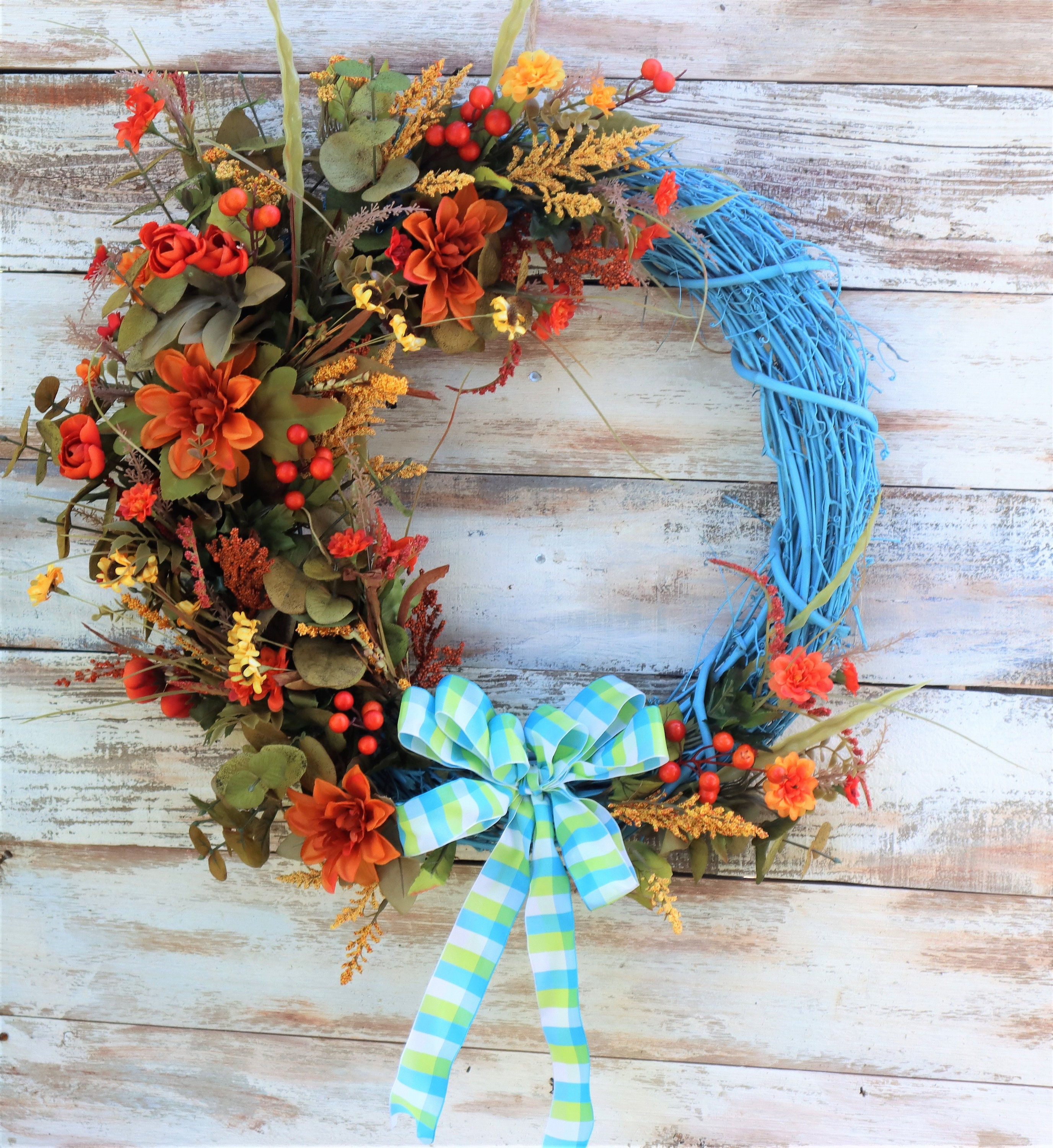 Fall Grapevine Wreath Harvest Wreath Thanksgiving Wreath Autumn Wreath Front Door Wreath Front Door Decor Wall Decor In Out Decor
