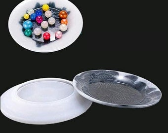14mm,stainless steel mold flat bottom collage round cabochon support DIY mercerie supply,punk imprint fimo glass modeling lot