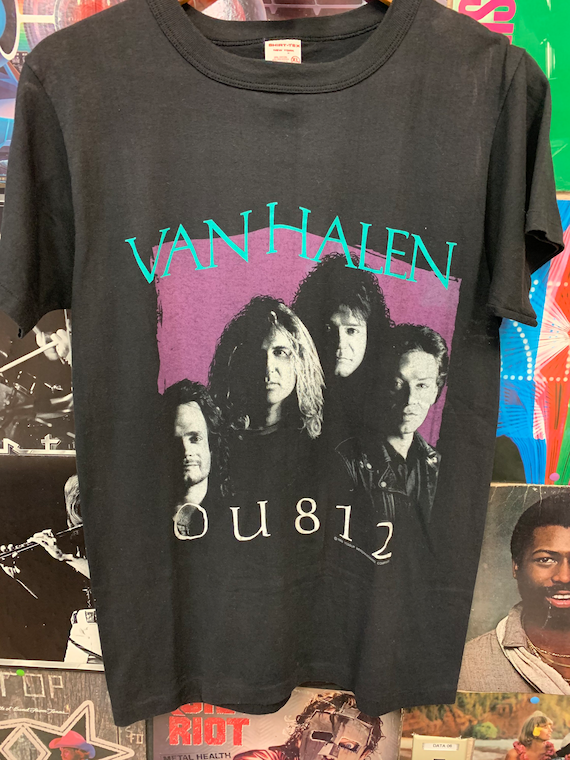 Original 1988 Van Halen OU812 Tour T-shirt XL