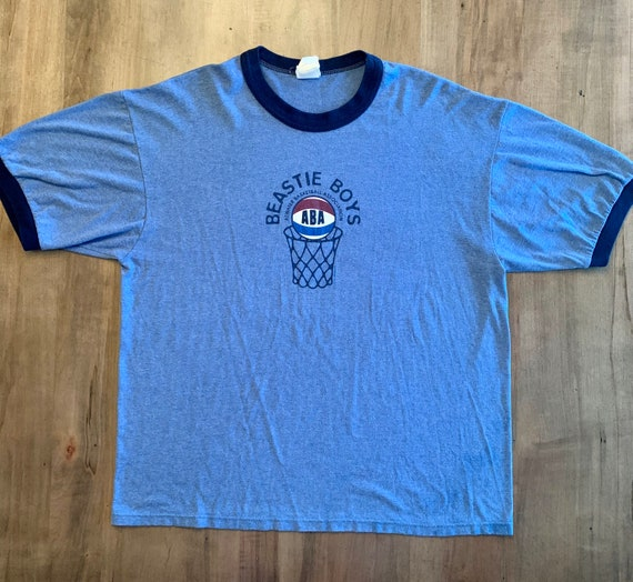 Original 1994 Beastie Boys ABA Basketball Ringer T