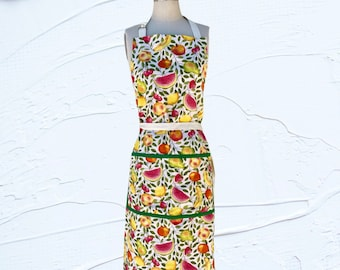 Fruit Apron with Front Pockets