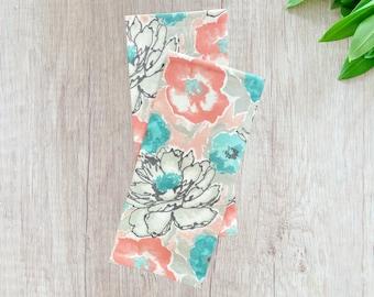 Abstract Floral Tea Towel, set 2