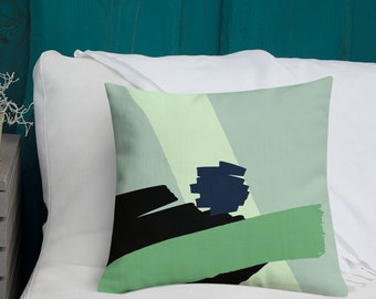 Abstract Geometric Pillow