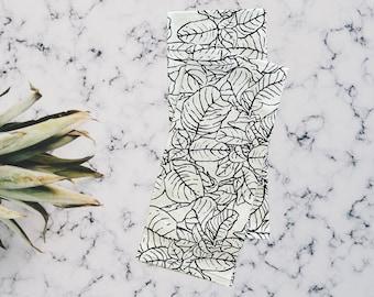 Leaf Tea Towel, Set 2