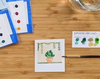 Mini Painting Kit- Potted Plants