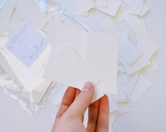 Watercolor Paper Scrap Bundle | Cold press, paper scrap, scrap bag, painting supplies, recycled art supplies, gouache, watercolor canvas