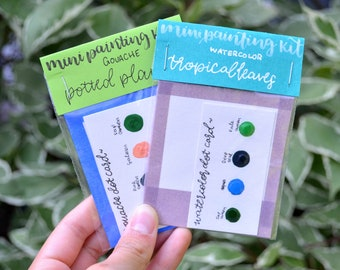 Mini Painting Kit Duo- Green Thumb
