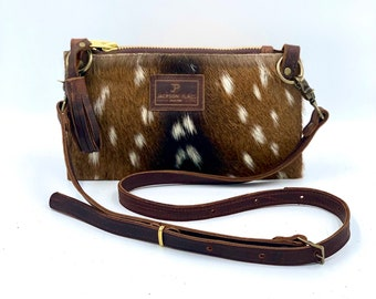 Deer Pendant Shoulder Handbags Women Leather Crossbody Shoulder Bags Purse LOT