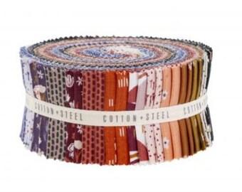 Dear Isla by Hope Johnson 40 Piece Jelly Strip Roll - Cotton & Steel Fabrics HJ200P-2.5S