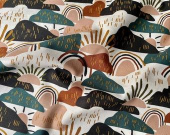 Dear Isla Hilltop Forest by Hope Johnson for Cotton & Steel Fabrics - HJ200-FO1