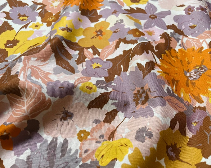 Featured listing image: Summer's End Floral by Alison Janssen for Figo Fabrics - 90336-80