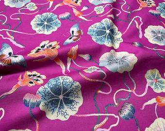 Forage Nastrutrium by Sarah Gordon for Figo Fabrics 90334-82