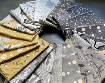 Through the Woods 20 Piece FQ Bundle by Sweetfire Road for Moda Fabrics - 743110AB