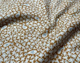 Kingyo Goldfish by Lemonni for Figo Fabrics 90384-55