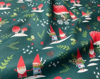 Gnome Noel Village Green by Liz Mytinger - PBS Fabrics 12021780