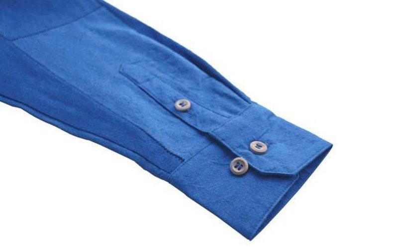Blue Experiment Japanese Blue Plant Dyed Handmade Cotton Fabrics Unisex Japanese Boro Patchwork Double Layers Cotton Kimono /& Noragi