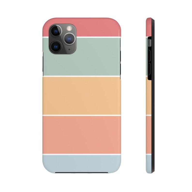Color Block Stripes Phone Case  Iphone  Samsung