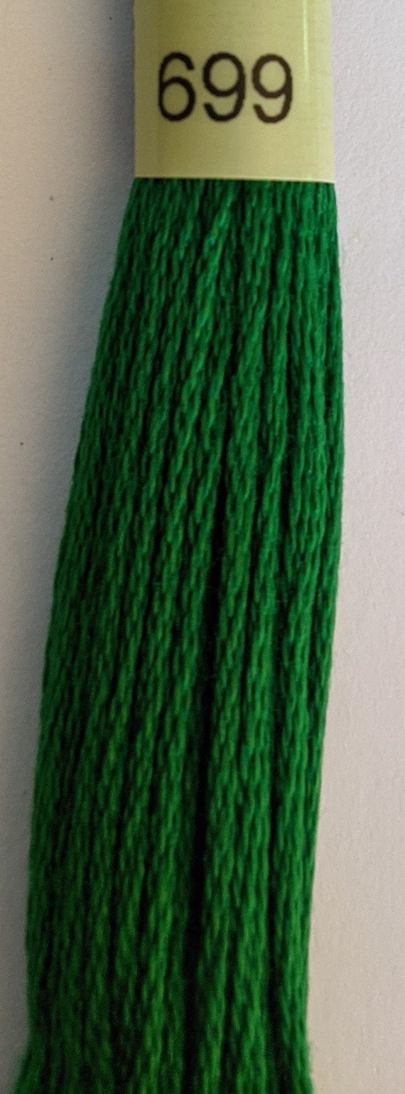Embroidery FLOSS stranded DMC colors 699