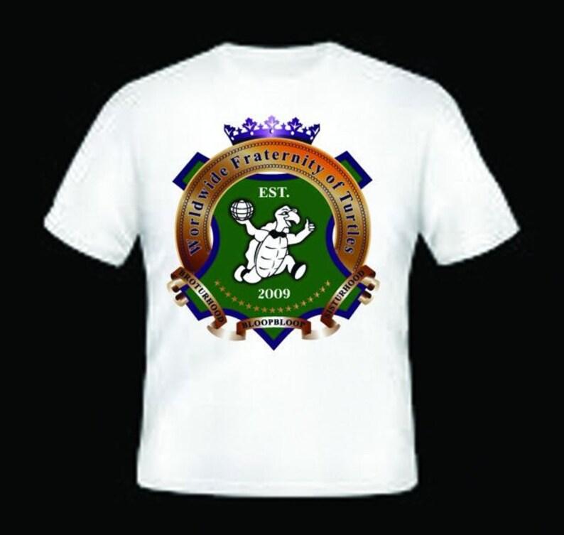 Worldwide Fraternity of Turtles Short Sleeve T-Shirt
