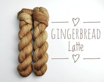 Hand dyed yarn - Indie dyed yarn - Merino Nylon Blend - 2ply high twist - 100g/425m - Gift for knitter or crocheter