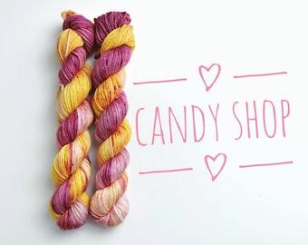 Hand dyed yarn - Indie dyed yarn - 100% Superwash merino - Dk weight - 50g/112m - Gift for knitter or crocheter