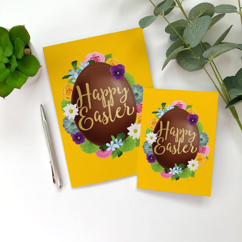 Happy Easter Card for the Whole Family Easter Greetings image 0