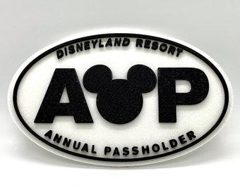 Disneyland Annual Passholder Inspired Sign