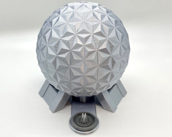 EPCOT Spaceship Earth Inspired Model