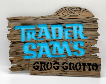 Trader Sam's Grog Grotto Inspired Sign (Customizable)