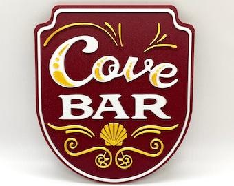Cove Bar Inspired Sign (Disney California Adventure)