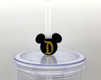 Disneyland Inspired Straw Topper