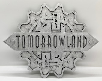 Tomorrowland Inspired Plaque