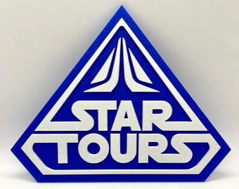 Star Tours Inspired Sign
