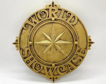 EPCOT World Showcase Plaque