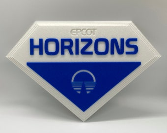 EPCOT Horizons Inspired Plaque