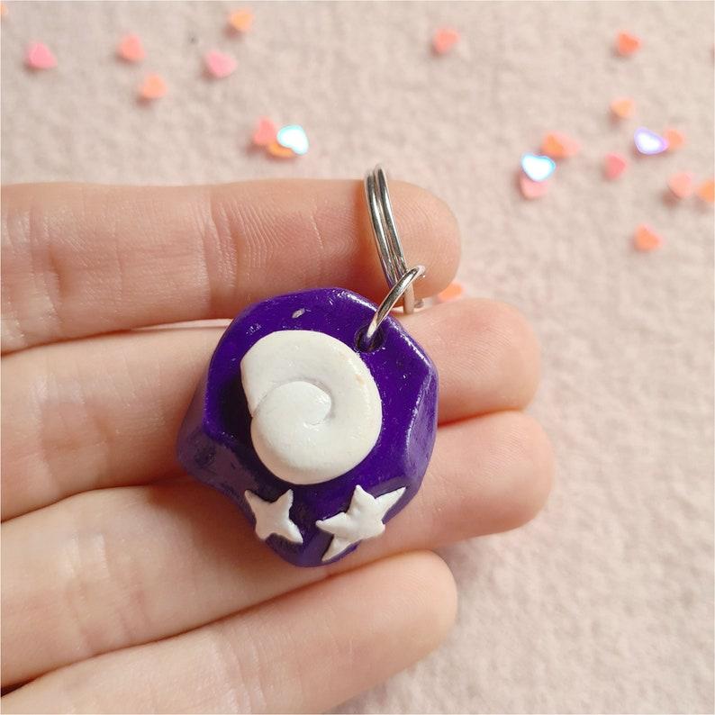 Animal Crossing Inspired Handmade Polymer Clay Keyrings