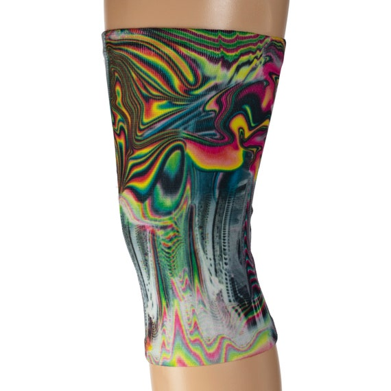 sizes Fast US Shipping Navy Floral Paradise S-XL Regular 1X-3X and Queen Women/'s Knee Support