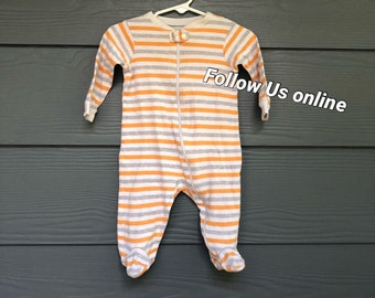 Flag of Hungary Unisex Long Sleeve Baby Gown Baby Bodysuit Unionsuit Footed Pajamas Romper Jumpsuit