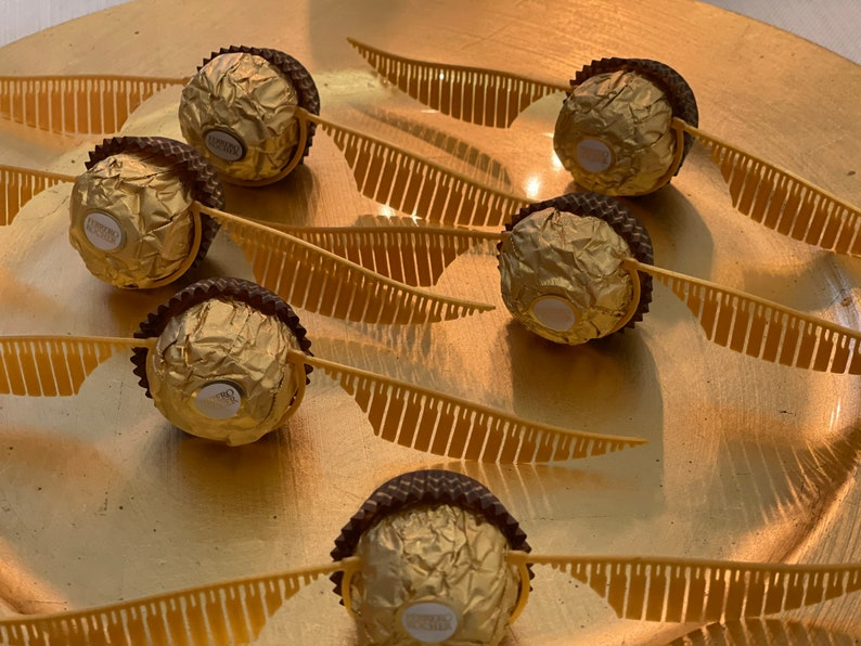 Harry Potter Golden Snitch Wings Chocolates not included