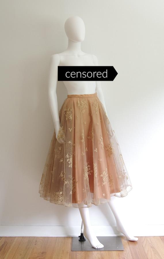 1950s Formal Skirt