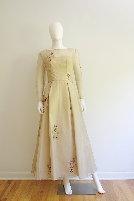 Late 1960s Formal Gown