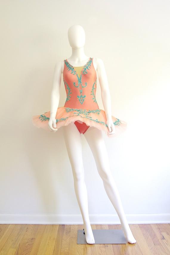 Vintage 1980s Pancake Tutu Dance Costume