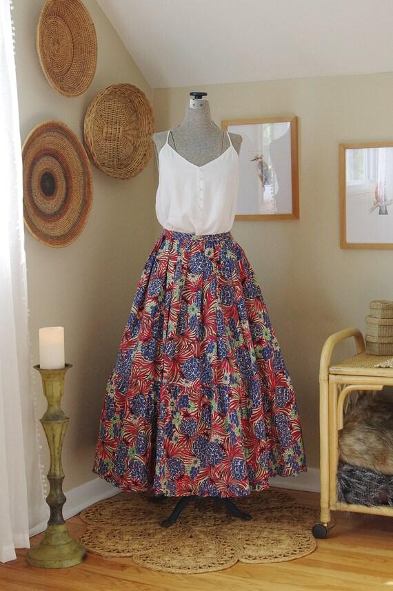 1940s Cotton Skirt